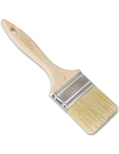 Flat Style Brush Platinium Wooden Handle ''3'' 791 - TURKEY