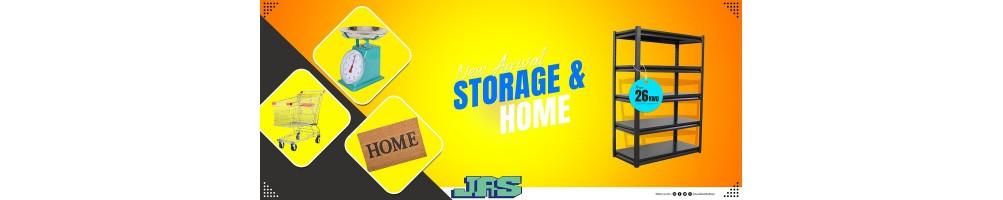 التخزين والمنزل
